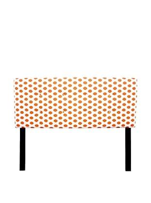 Sole Designs 8-Button Tufted Jojo Headboard (Orange/White)