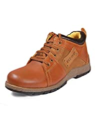 Red Chief Men's Tan Leather Casual Shoes - B00MANUZ5A