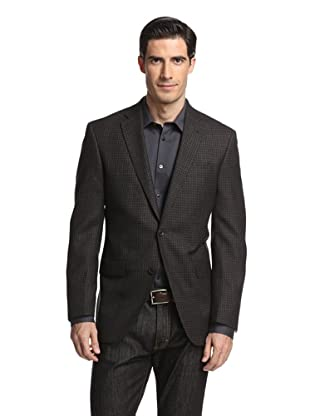 Jack Victor Studio Men's Checked 2-Button Sportcoat (Grey)