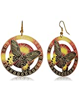 Addons Drop Earrings for Women (RVSD-000036166 GLD)