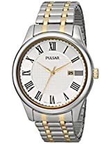 Pulsar Men's PH9041 Traditional Collection Analog Display Japanese Quartz Silver Watch