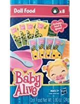 Hasbro Baby Alive Doll Food - 8 Pack Includes Bowl And Spoon
