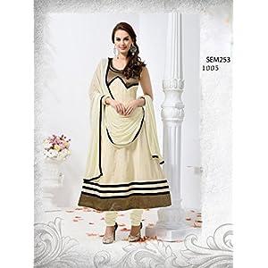 V & V shop Evelyn Sharma Anarkali Suit - Off-white