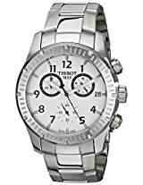 Tissot Analogue Silver Dial Men's Watch - T0394171103700