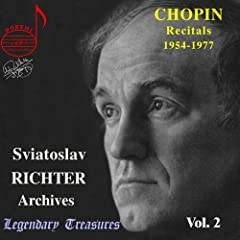 Legendary Treasures - Sviatoslav Richter Archives, Vol. 2 - Chopin Recitals 1954-1977