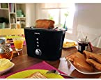 Philips HD2630/20 Viva Collection Sandwich Pop-Up Toaster Black silver