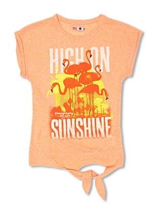 CKS Kids GIRLS Camiseta Chalcedony (Naranja)