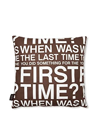 Inhabit First Time Pillow (Chocolate)
