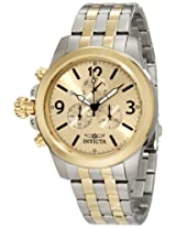 Invicta Men's 10057 Specialty Lefty Chronograph Steel Watch