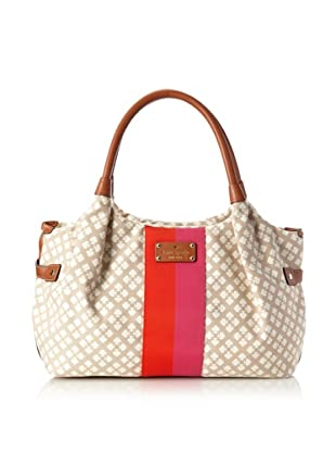 Kate Spade Women's Classic Stevie Tote Bag, Stucco
