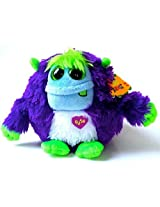 "Ty Inc Monstaz Frankie The Purple Monster Plush 5"""