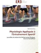 Physiologie Appliquee A L'Entrainement Sportif