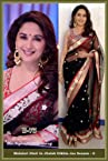 Bhuwal Fashion Black Net Bollywood Replica Saree