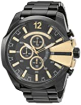 Diesel Chronograph Black Dial Men's Watch - DZ4338