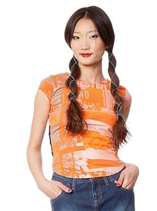 Custo Camiseta (Naranja)