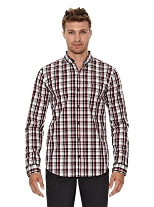 Unitryb Camisa Cuadros (Gris / Rojo)