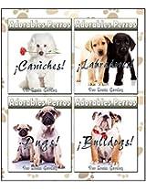 Adorables Perros Recopilación Volumen 1: Pugs, Bulldogs, Caniches y Labradores (Spanish Edition)