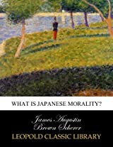 What is Japanese morality?