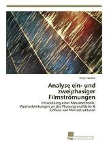 Analyse Ein- Und Zweiphasiger Filmstromungen