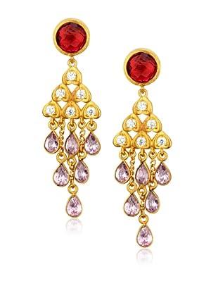 Zariin Pink Bollywood Beauty Earrings