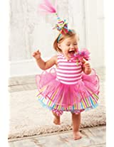 Mud Pie - Tiered First Birthday Party Dress Size 12-18 Month