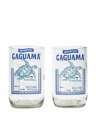 Set of 2 Caguama Beer Tumblers