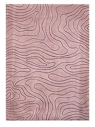 Thin Wave Rug, Blush, 5' x 8'