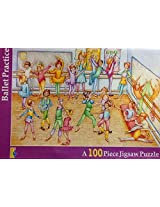 """Ballet Practice"""" 100 Piece Jigsaw Puzzle~ Educa Sallent"""