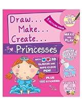 Parragon Book - Draw, Make, Create, Princess