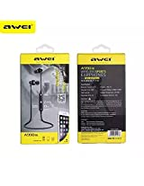 AWEI WIRELESS SPORTS EAR PHONES FOR CALL &MUSIC A990 BL