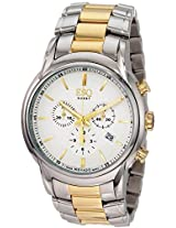 Esq By Movado Quest Two-Tone Chronograph Mens Watch 07301399