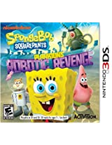 SpongeBob SquarePants: Plankton's Robotic Revenge (Nintendo 3DS) (NTSC)