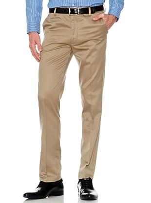 Dockers Pantalón Ajustado Vestir (khaki oscuro)