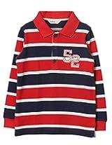 Beebay Boys Multi colour Striper Pique Polo (B0815205020916_Multi-Colour Stripe_10Y)