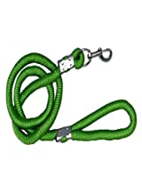 Uniquedeals Nylon Dog Rope Leash,Green - Xl