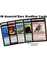 10 Assorted Rare Zendikar Cards (MTG) - All Magic: the Gathering Lots