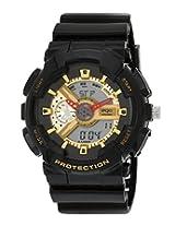 Maxima Ego Analog-Digital Black Dial Men's Watch - E-37120PPAN