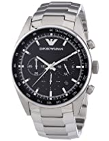 Emporio Armani Sportivo Analog Black Dial Men's Watch AR5980