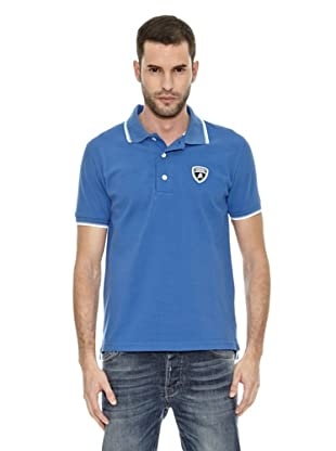 Lamborghini Polo shirt Tip (Azul Royal)