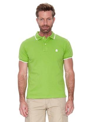 Cortefiel Polo Nuevo Tip C/Bordado (Verde)