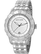 Pierre Cardin Analog White Dial Men's Watch - PC105371F02