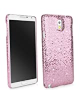 BoxWave Glamour & Glitz Samsung Galaxy Note 3 Case - Slim Snap-On Glitter Case, Fun Colorful Sparkle Case for your Samsung Galaxy Note 3! - Samsung Galaxy Note 3 Cases and Covers (Princess Pink)