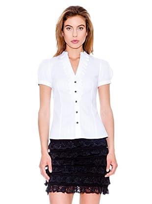 Mango Camisa Adobe (Blanco)