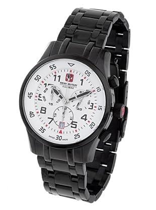 Swiss Military 065C4W - Reloj de Caballero movimiento de cuarzo con brazalete metálico Negro