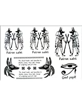 2012 Latest New Design New Release Egyptian Style, Men And Women Waterproof Tattoo Sticker
