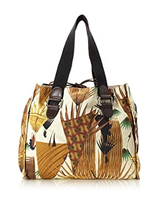 MARNI Women's Printed Shopping Bag, Multi Print