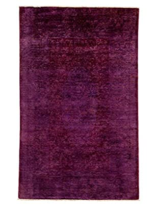 Solo Rugs Ziegler One-of-a-Kind Rug, Purple, 4' 10