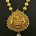 Laxmi necklace -71(temple jewellery)