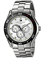 Tommy Hilfiger Mens 1790606 Multi-Function Stainless Steel Bracelet Watch