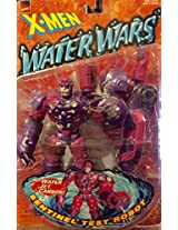 SENTINEL TEST ROBOT with Wet Jet Cannon Water Wars Series 1997 Marvel Comics X-Men Action Figure Accessories